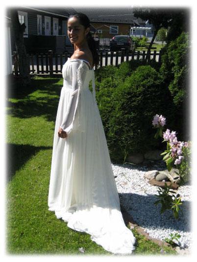 Marias bryllups kjole